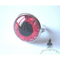 Bague Zombie Red Eye