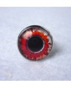 Bague Zombie Red White Eye