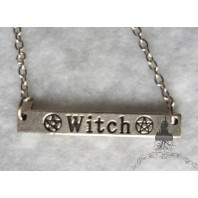 Witch Necklace - Wicca, Wiccan, Occult, Esoteric, Witchcraft, Magic, Witchy, Grunge, Mystic, Evil