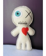 Ischiopagus Voodoo Doll, Siamese, Freak, Circus, Twins, Conjoined, Monster, Voodoo Doll, Mummy, Valentine, Freakshow, Halloween