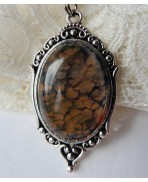 Collier Agate Mother of Dragons 1F, Oeuf, Dragon, Gothique, Daenerys, Khaleesi, Elfique, Game of Thrones, Fantasy, Pierre