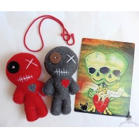 Voodoo Dolls Couple Mojo Ritual love Dagyde Ex Separation Spell Kit, Marriage, Valentine's Day, Wedding, Divorce, Sex