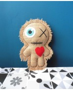 Witch Mummy Voodoo Doll Poppet, Wicca, Occult, Halloween, Monster, Zombie, Valentine's Day, Couple, Wedding
