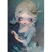 Marie Masquerade Greeting Card by Jasmine Becket-Griffith