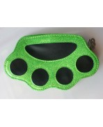 Knuckle Purse green